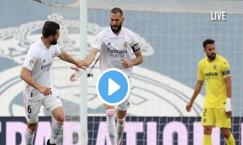 Watch Real Madrid Vs Villarreal Live Streaming On TV