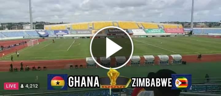 How to Watch Ghana vs Zimbabwe Live Streaming