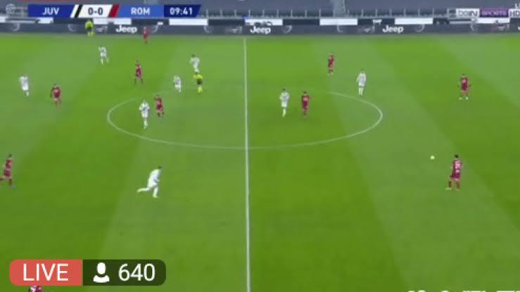 Watch Juventus vs AS Roma Live Streaming