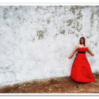 The Travelling Red Dress