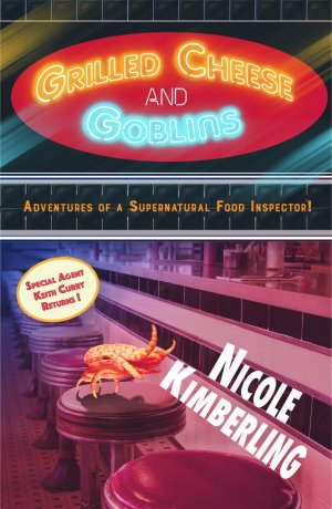Cover Art for GRILLED CHEESE & GOBLINS by Nicole Kimberling