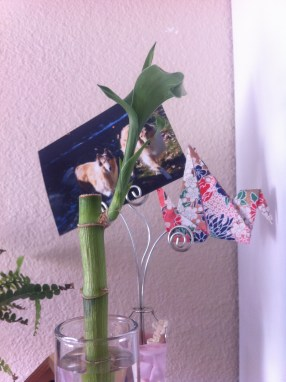 #5: Origami adds a nice touch, especially when it's in the same space as bamboo.