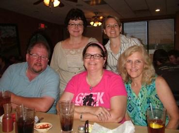 Having dinner in St. Louis