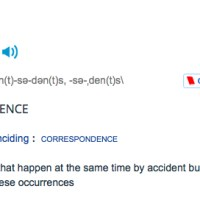 Coincidence Vs Causality