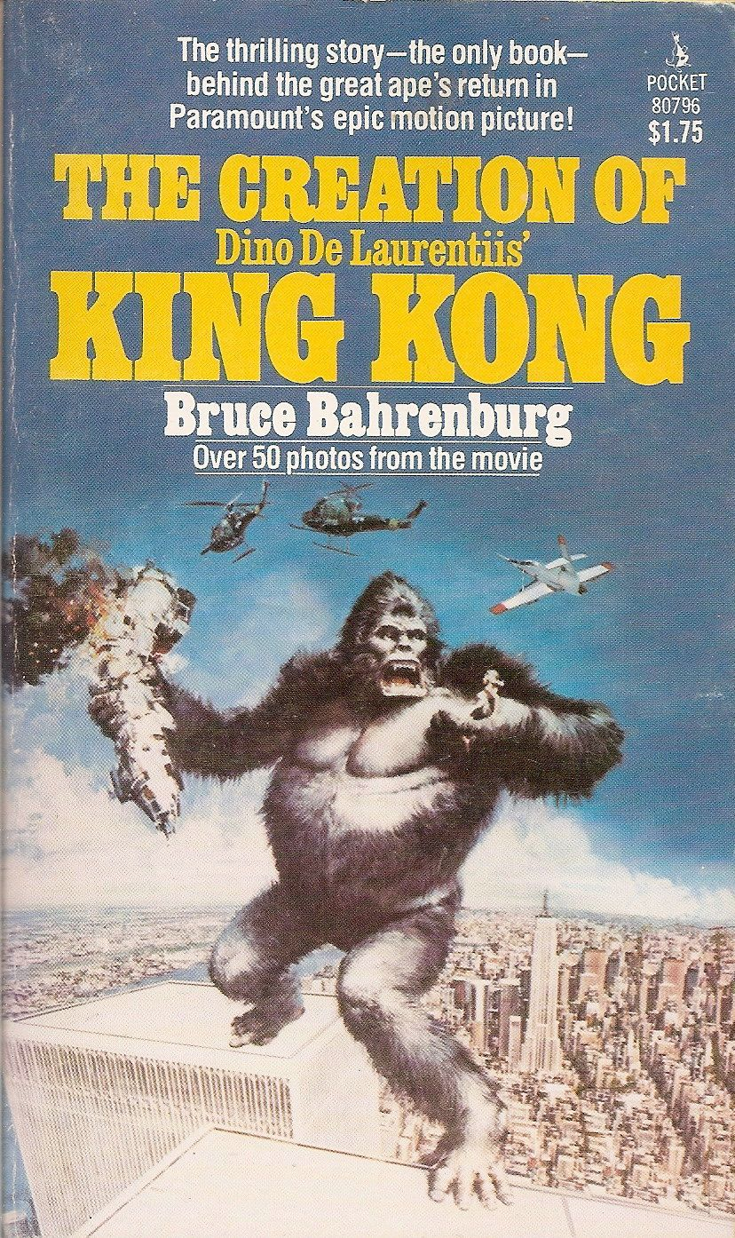 Best Making Of Books: The Making of King Kong '76 - Thescriptblog.com