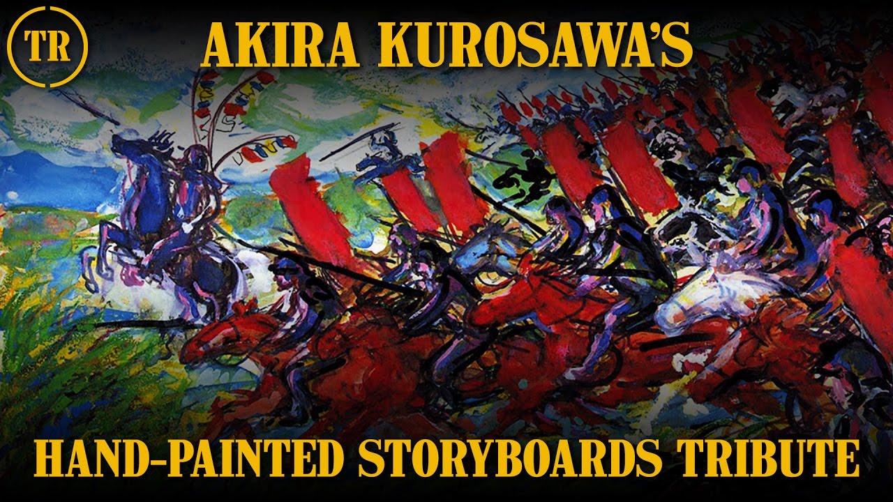 Kurosawa's storyboards