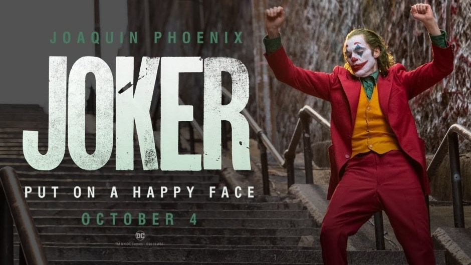 Joker poster Joker's controversy: Michael Moore have something to say.