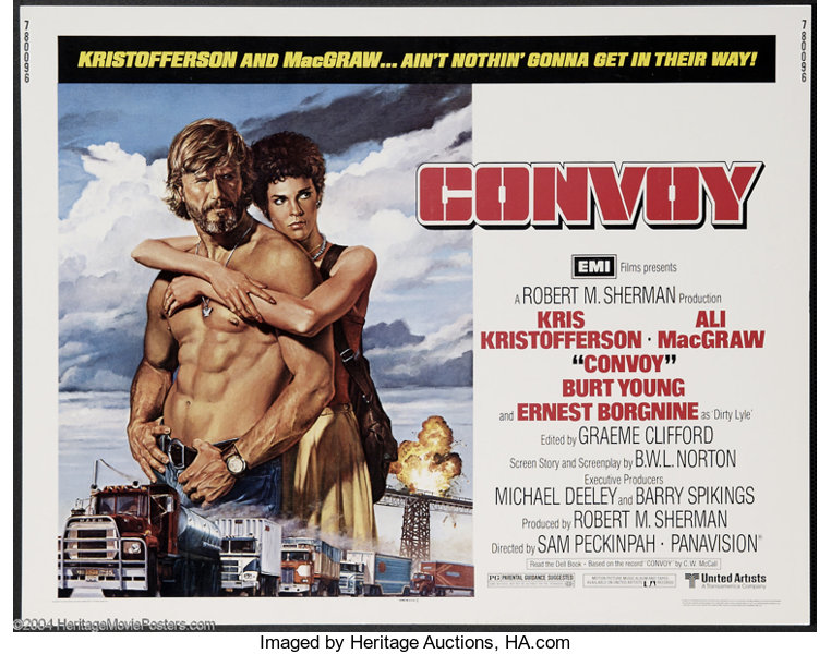 Convoy- Best Making Of Books Ever: Blade Runners, Deer Hunters & Blowing the Bloody Doors off