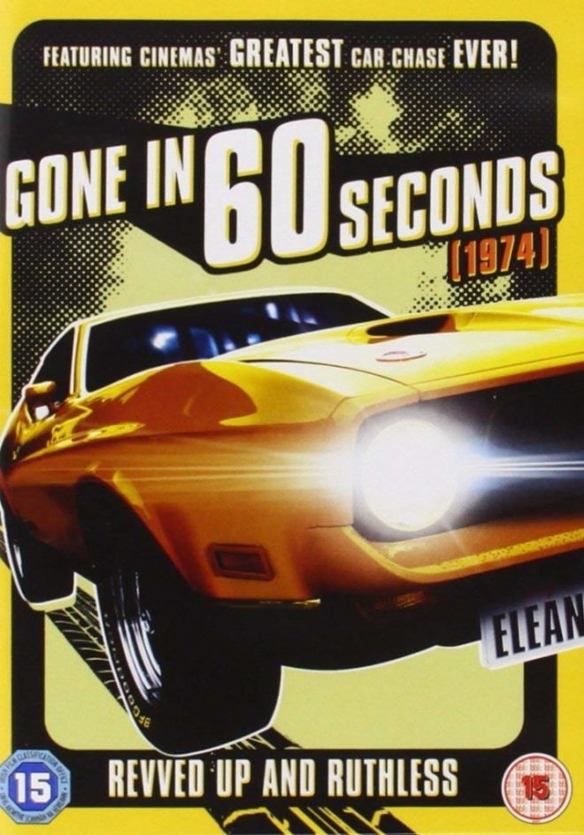 Gone in 60 Seconds Poster - The Scriptblog.com