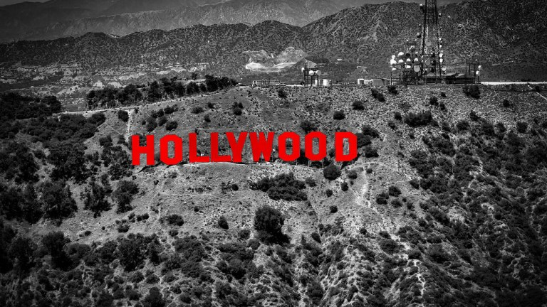 Hollywood Red Sign