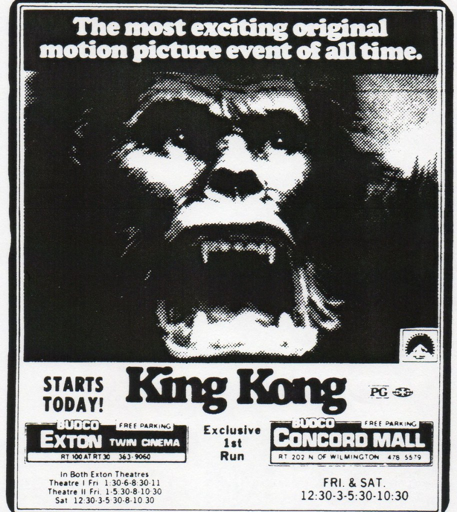 King Kong Publicity