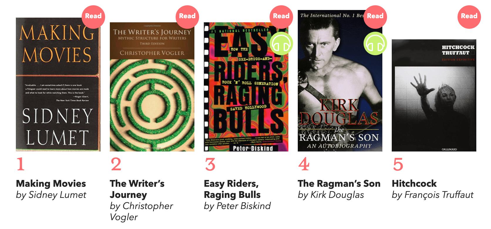 Darren Aronofsky's Best 5 Books on Making Movies - thescriptblog.com