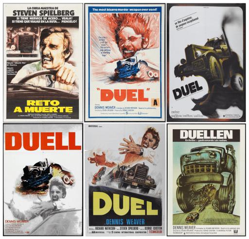 Spielberg's Duel Poster - thescriptblog.com