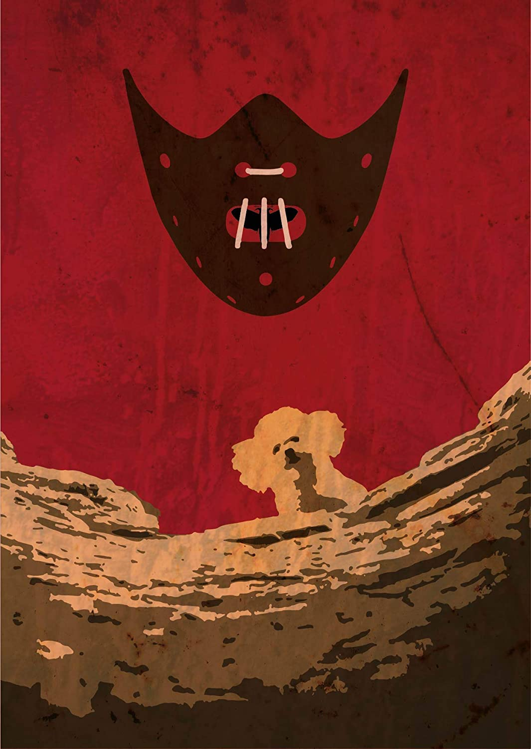 The Silence of the Lambs alternative poster 2 - thescriptblog.com