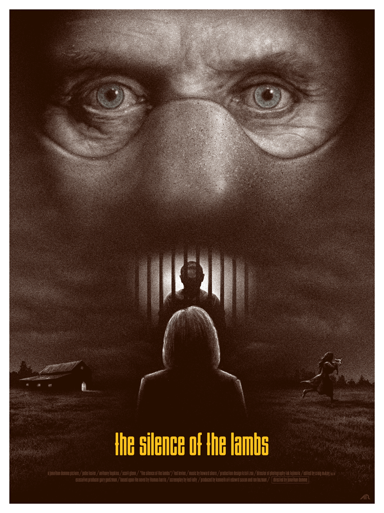 The Silence of the Lambs alternative poster 3 - thescriptblog.com