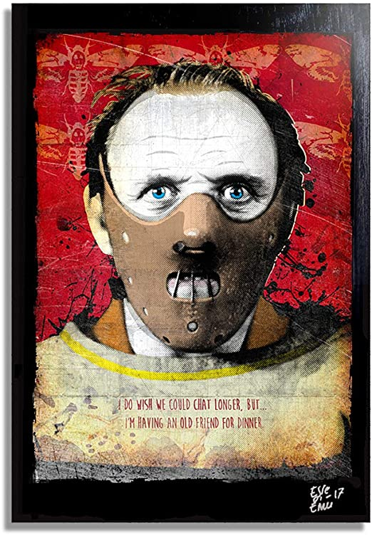 The Silence of the Lambs alternative poster - thescriptblog.com