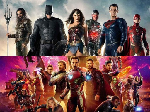 DC and Marvel Cinematic Universes - The Big Picture - thescriptblog.com