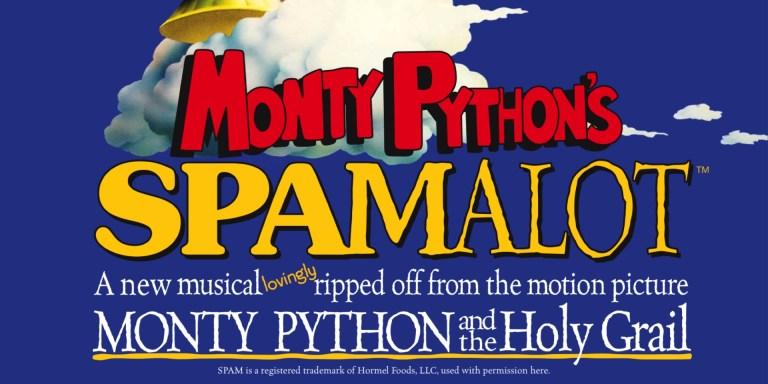 Spamalot, the musical - thescriptblog.com