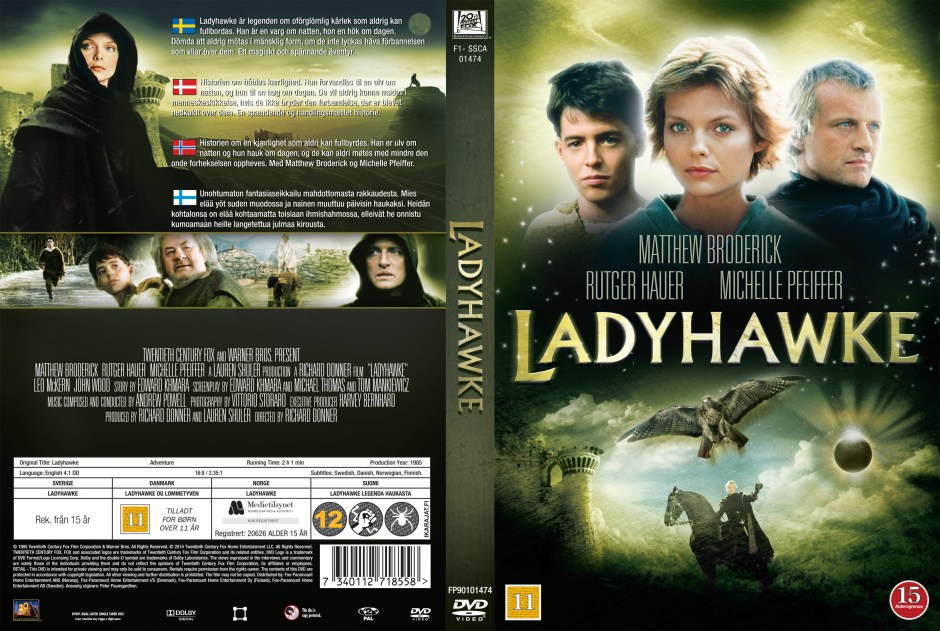 Ladyhawke, directed by Richard Donner - thescriptblog.com