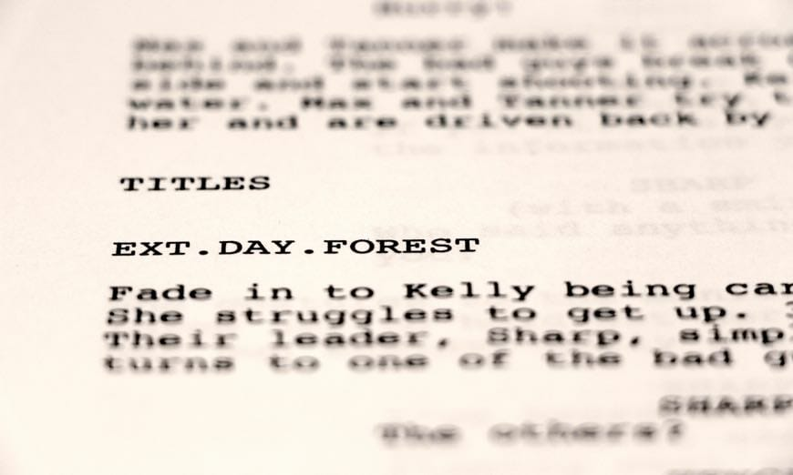 the history of the screenplay   the script lab
