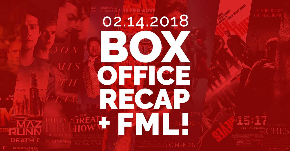 Box Office Recap — February 14, 2018