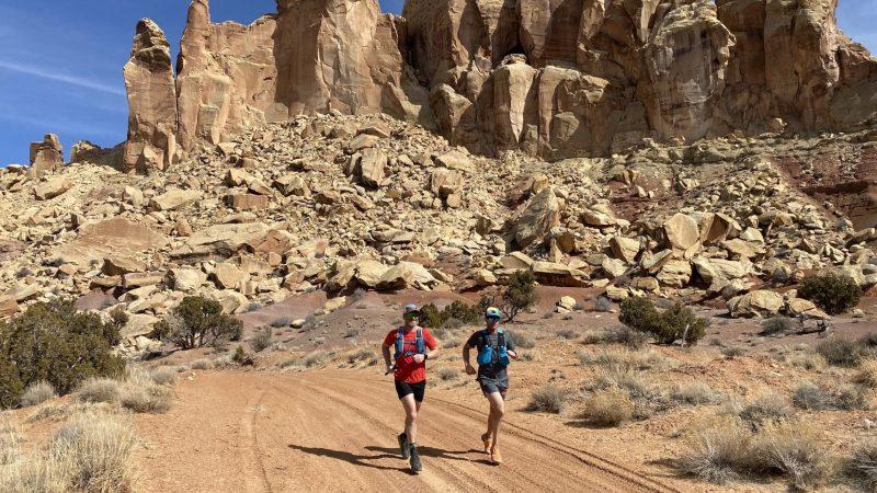 Running 4 Slot Canyons in 40 Miles Through the Desert