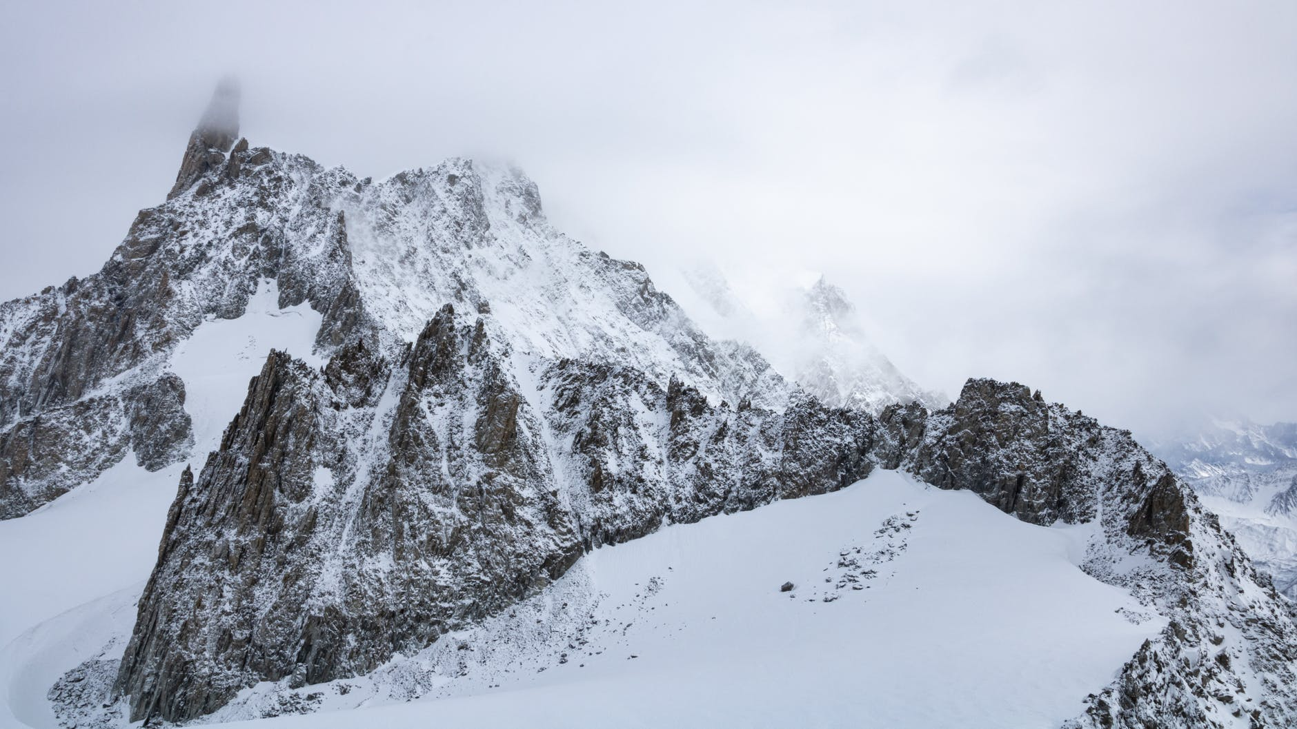 Trails in Courmayeur