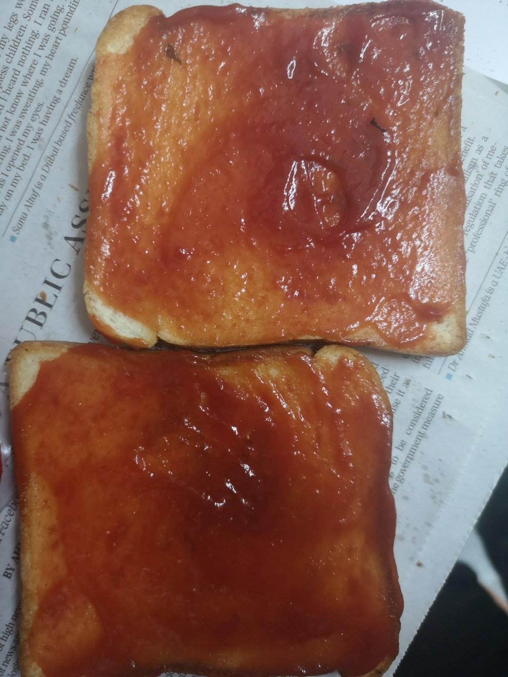 Ketchup Bread
