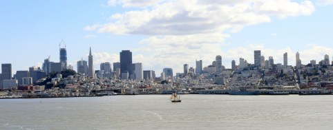 View of San Fransisco from Alcatraz