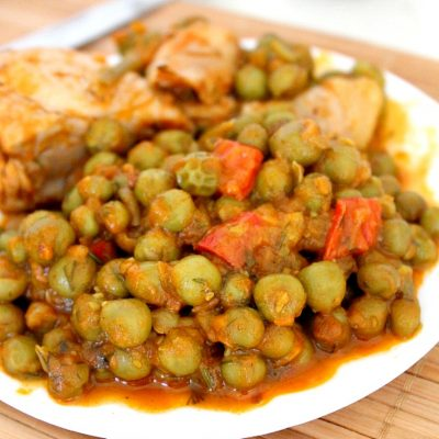 Chicken and Pea stew recipe