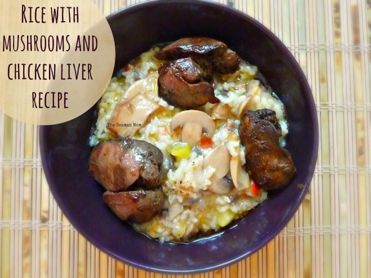 Rice-with-mushrooms-and-chicken-liver-recipe