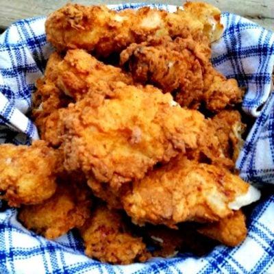 Crispiest Buttermilk Fried Chicken