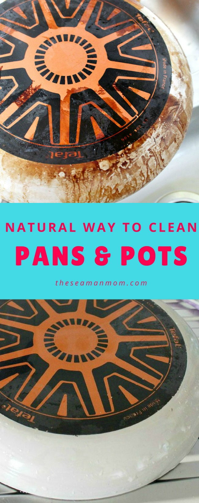 Natural way to clean pans and pots