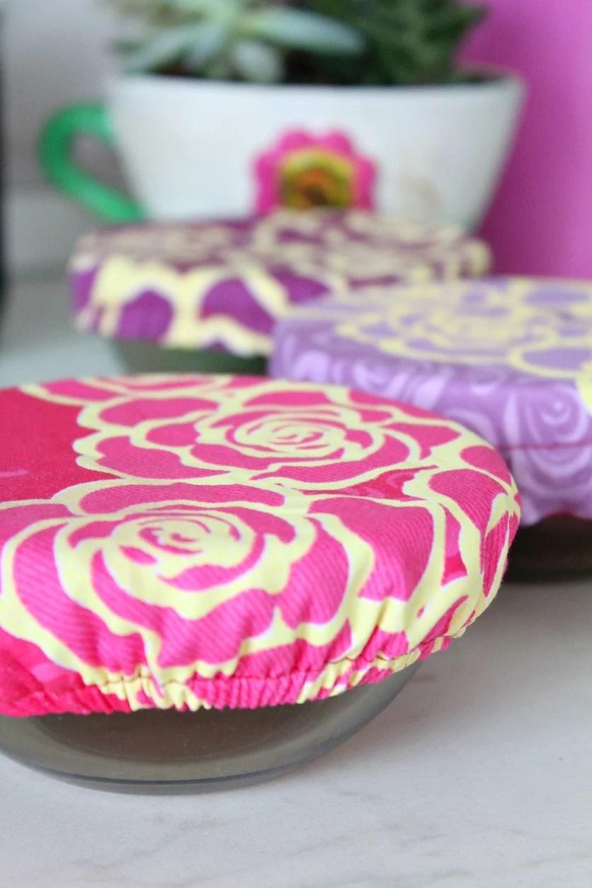 Reusable bowl covers