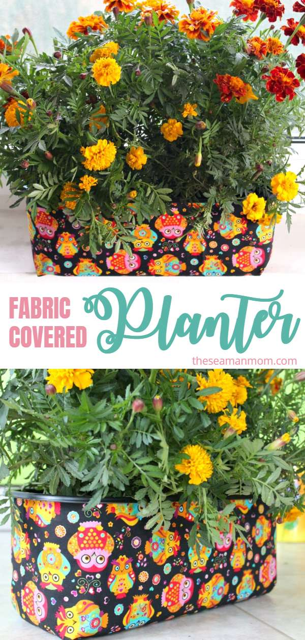 Need unique flower planter ideas? Make your own planter that is personalized to your style and home decor with this cheap DIY planter that makes gardening easy, pretty and fun! via @petroneagu