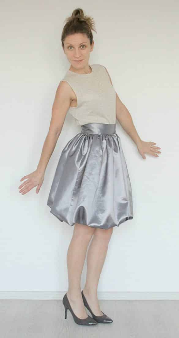 Bubble Skirt Without A Zipper Easy Sewing Tutorial