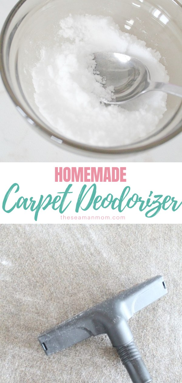 Are you sick of your stinky carpets? Remove carpet odor & get it to smell fresh and nice again the easy, natural, homemade way! Pet odor removal has never been easier with this DIY carpet deodorizer! Here's how to remove carpet odor without an expensive deodorizer!  via @petroneagu