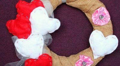 Valentines wreath tutorial
