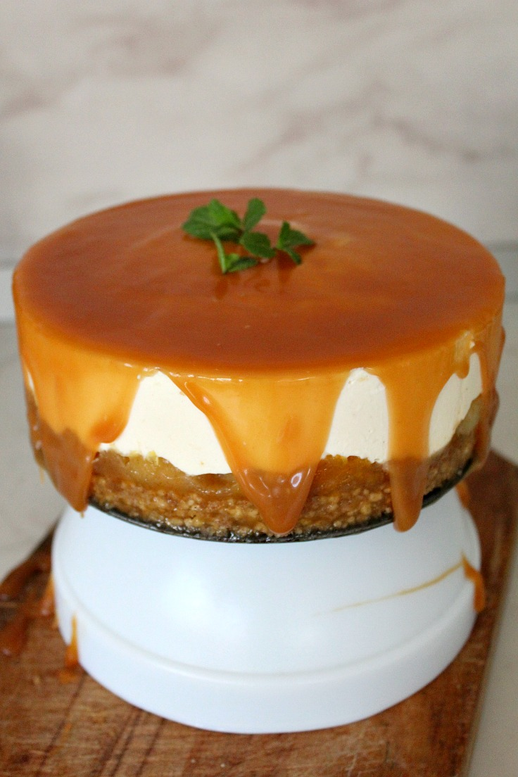 No bake cheesecake step 16