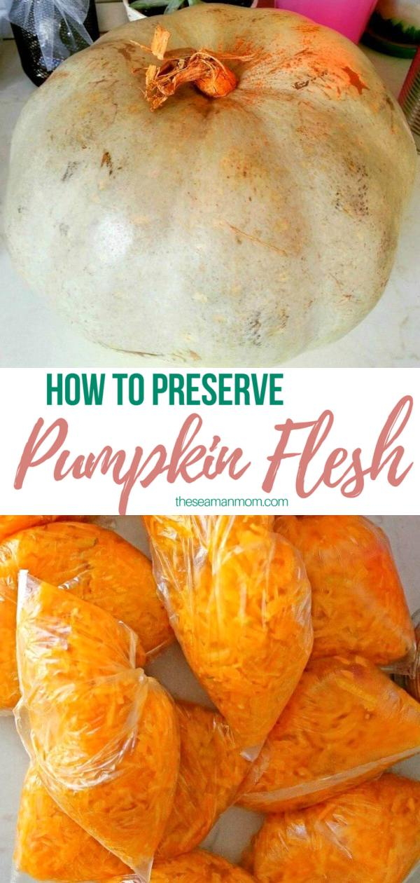 How to store pumpkin