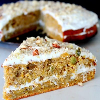Pumpkin Lemon Cake Recipe With Cream Cheese Frosting