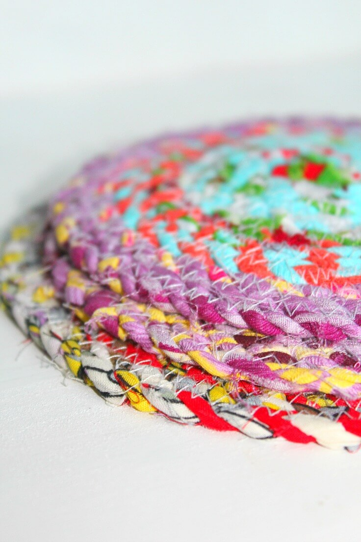 Sewing hot pads
