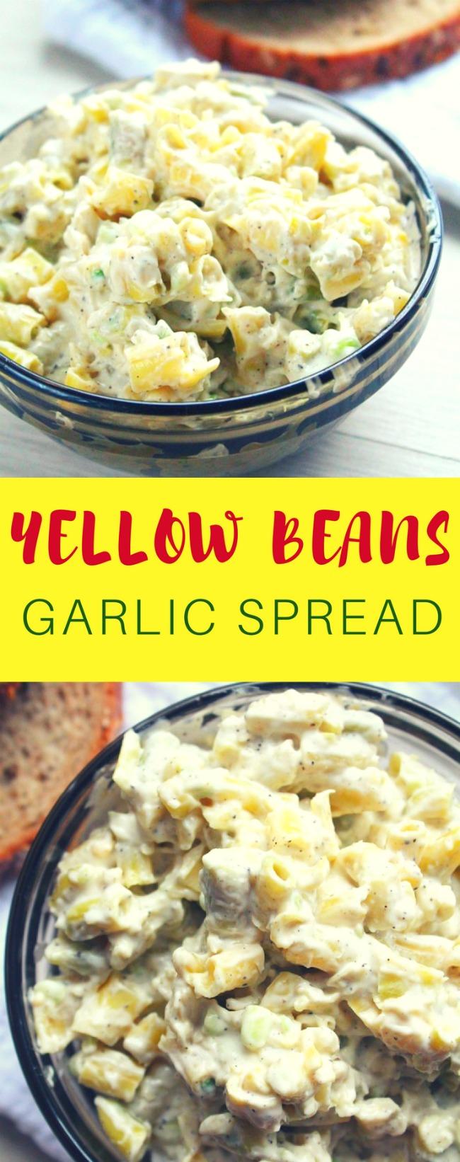Yellow bean salad