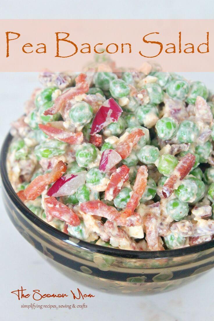 Peas Bacon Salad
