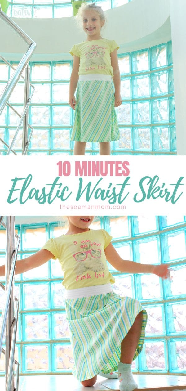 Need a quick skirt that's easy to make, comfortable to wear and looks great on most body shapes? Make this easy peasy a line skirt pattern that's ready to wear in just 10 minutes! via @petroneagu
