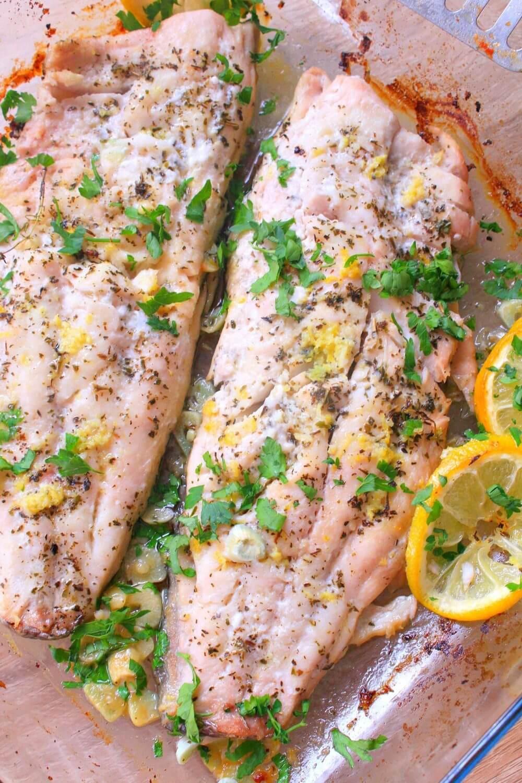 lemon butter fish recipe