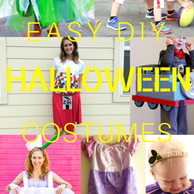 Brilliant DIY Easy Halloween Costumes