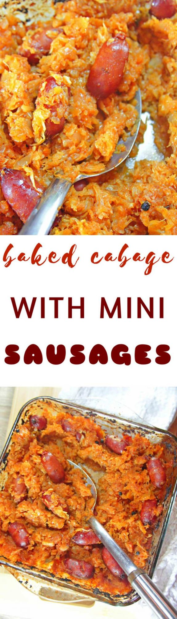 Cabbage And Sausage Casserole