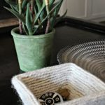 cute DIY yarn bowl using just a handful of simple materials you probably have on hand!