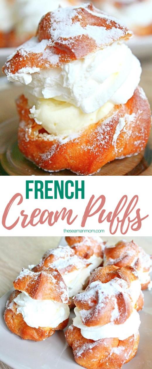 French cream puffs